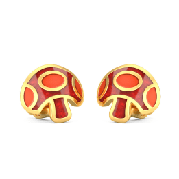 The Fun Mushrooms Earrings For Kids
