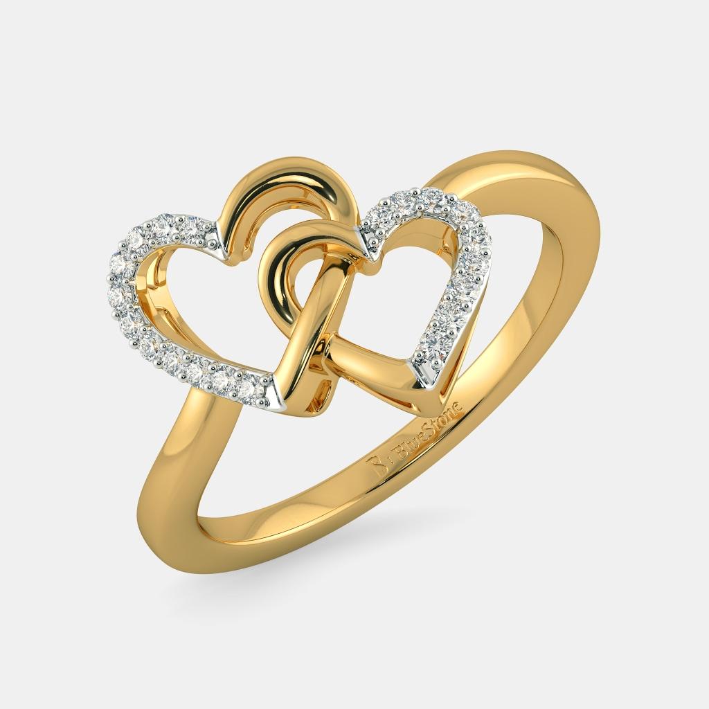 The Affairs Of Heart Ring | BlueStone.com