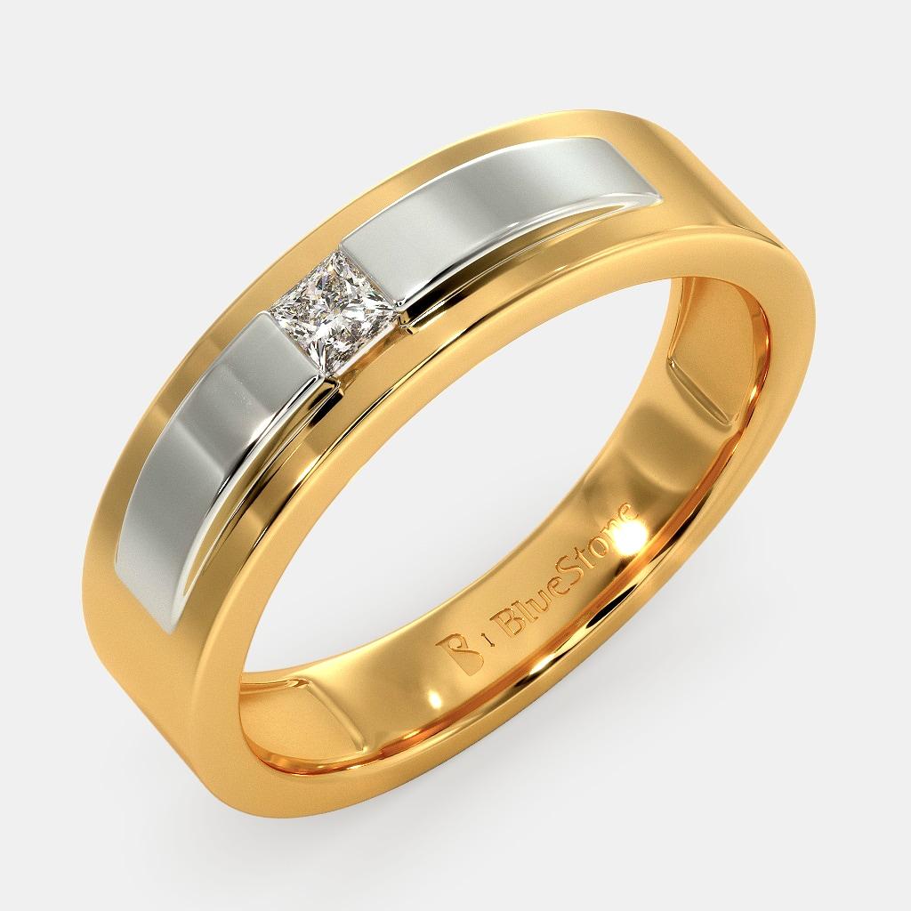 Men Gold Engagement Rings