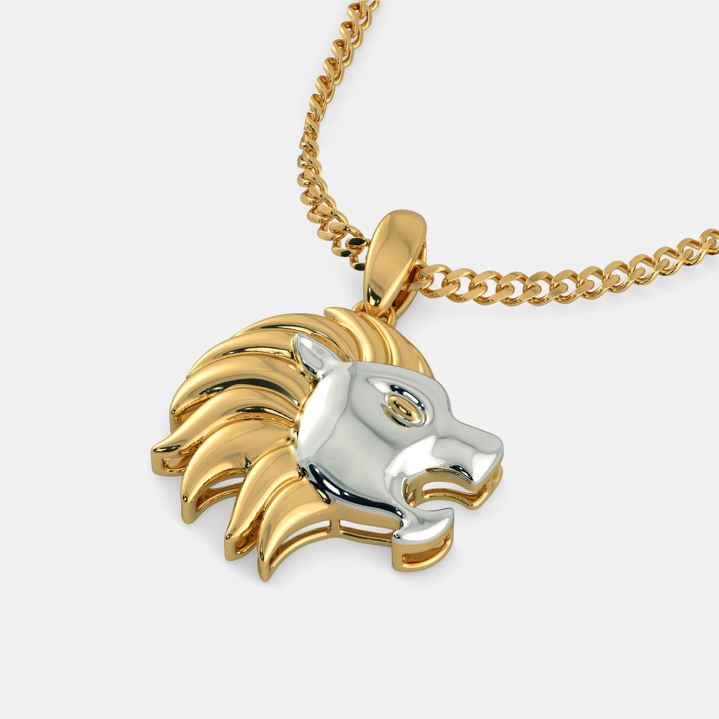The lion pendant bluestone the lion pendant aloadofball Choice Image