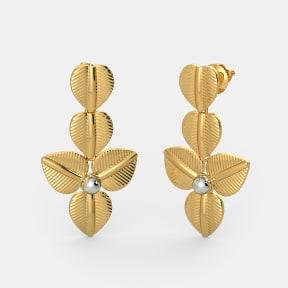 The Trailing Trillium Earrings
