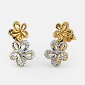 The Twin Flower Earrings