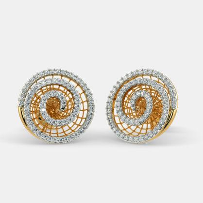 The Helix Lattice Earrings
