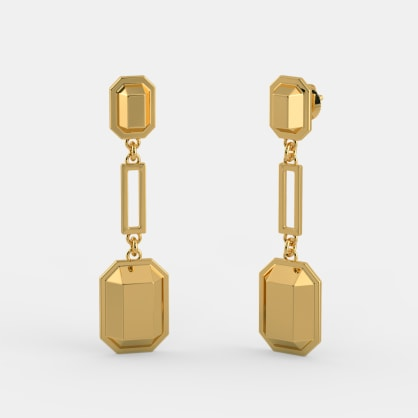 The Bullion Axis Earrings