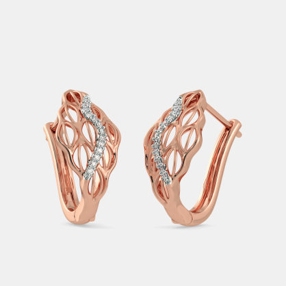 The Carya Hoop Earrings