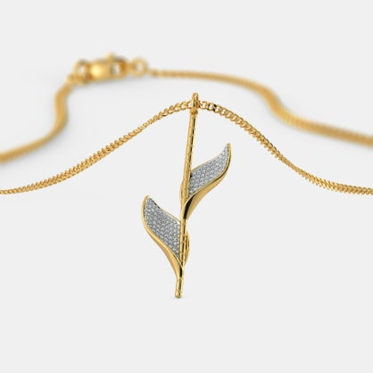 The Cilesi Leaf Pendant