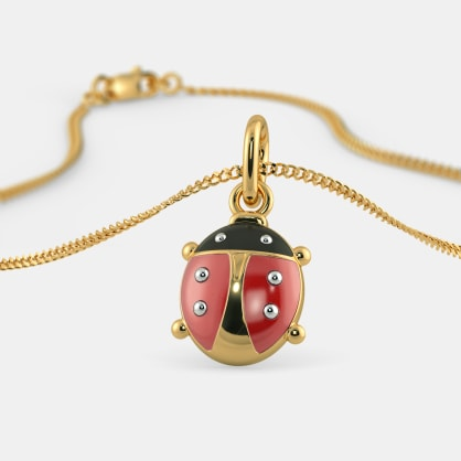The Brave Ladybird Pendant For Kids