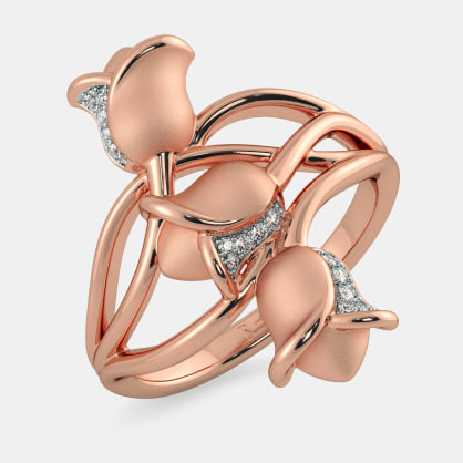 The Enchanted Tulip Ring
