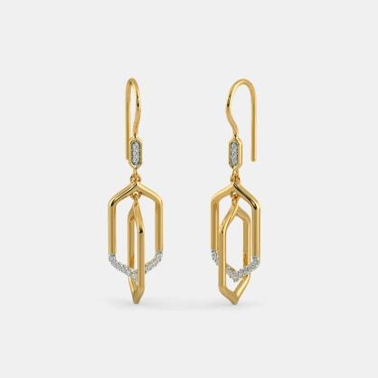 The Renzo Orbit Drop Earrings