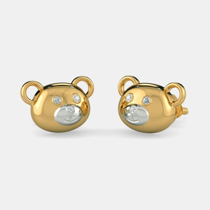 The Bear World Earrings For Kids