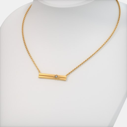 The Gladys Bar Necklace
