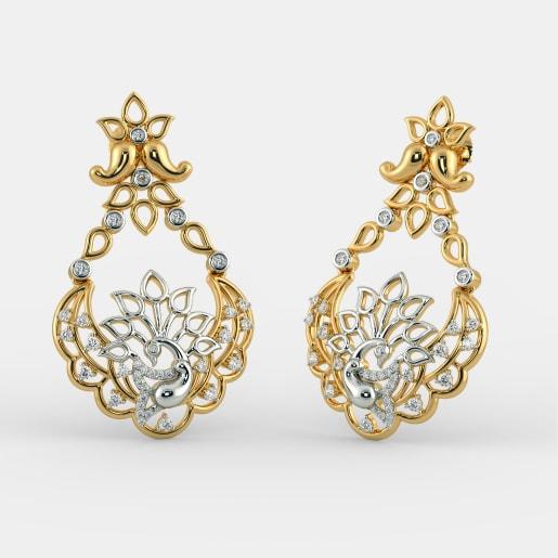 The Asfoorah Chand Bali Earrings