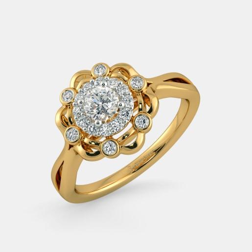 Diamond PreSet Solitaire Ring In Yellow Gold (4.07 Gram)