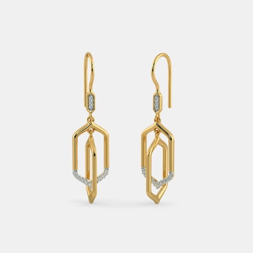 The Renzo Orbit Drop Earrings