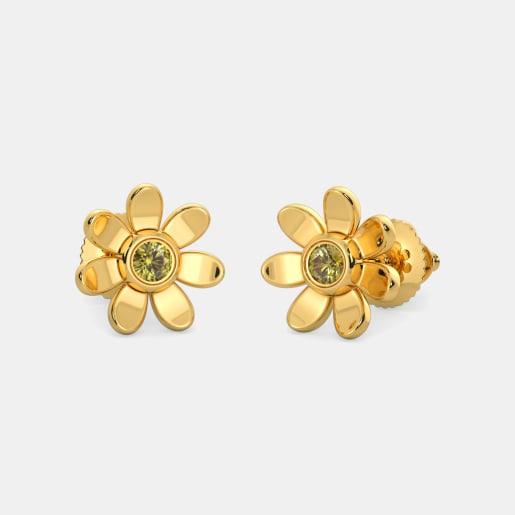 The Angelic Flower Earrings For Kids