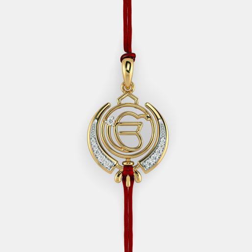The Khalsa Rakhi Pendant