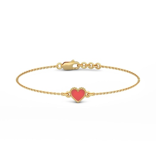 The Alena Heart Bracelet