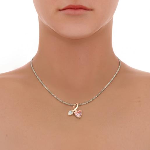 The Cira Rose Quartz Pendant