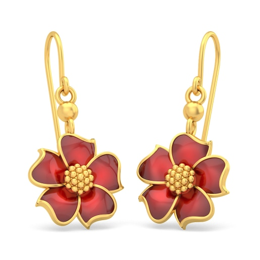 The Fiery Passion Earrings