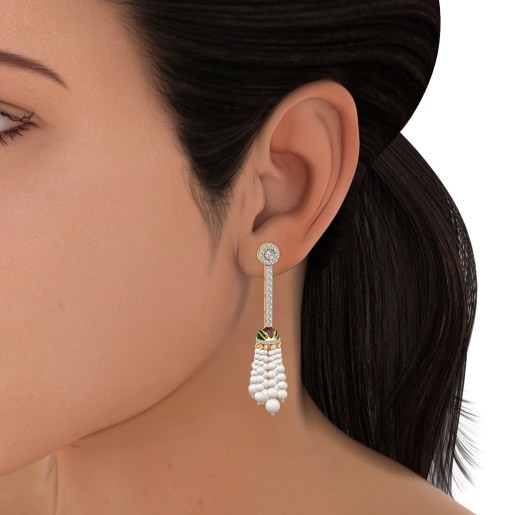 The Yasmine Drop Earrings