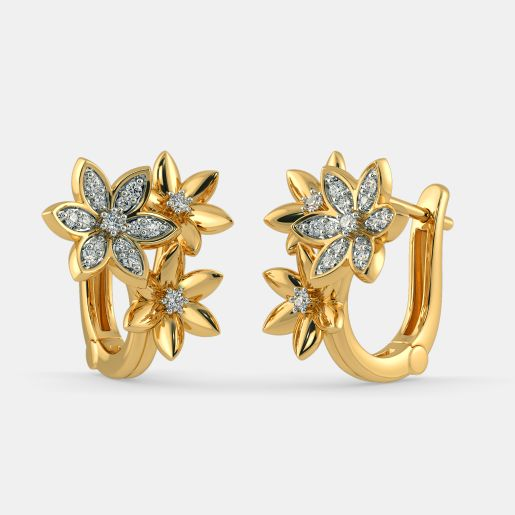 The Dyuti Hoop Earrings