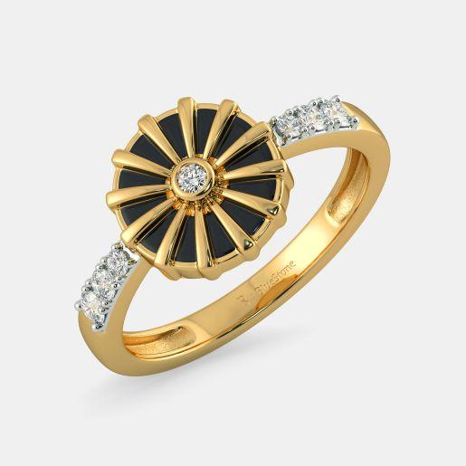 The Ebony Radiance Ring