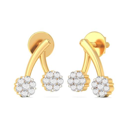 The Magnolia Stud Earrings