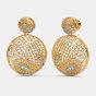 The Cachemire Lattice Earrings
